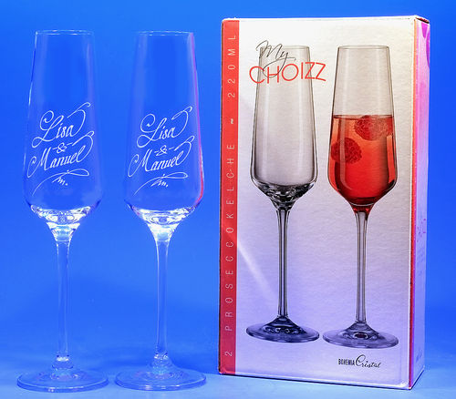 2er-Set Proseccokelche 220 ml - My Choizz